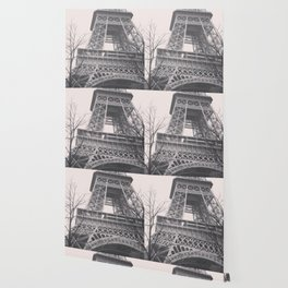 Eiffel tower, Paris, black & white photo, b&w fine art, tour, city, landscape photography, France Wallpaper