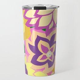 CAMBRIA, ART DECO FLORALS: BOHO SUMMER Travel Mug