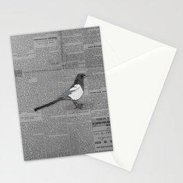 Bad News Bird Stationery Cards