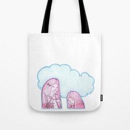 Rabbit Girls Tote Bag