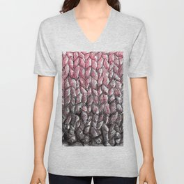 Wool Unisex V-Neck