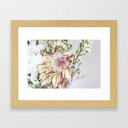 The Blushing Bride Framed Art Print