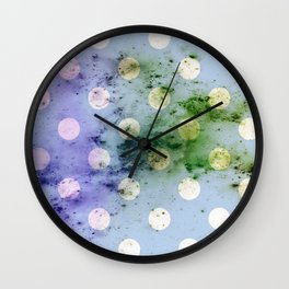 POLKA DOT Wall Clock