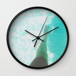 Step into Ocean Wall Clock