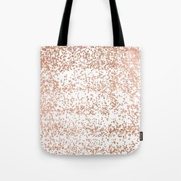 Elegant pink rose gold glam confetti Tote Bag