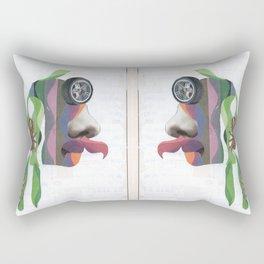 Trepa por mi pelo Rectangular Pillow