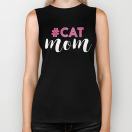 #CAT mom Biker Tank