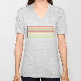 Re-Created Channels vii by Robert S. Lee Unisex V-Neck