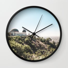 Observatory Views Wall Clock