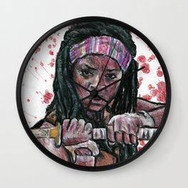 The Walking Dead's Michonne Wall Clock