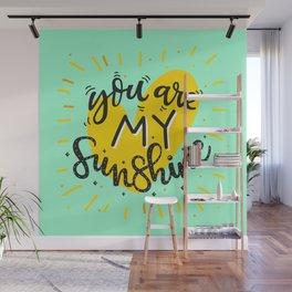 The Lovely Sunshine Wall Mural
