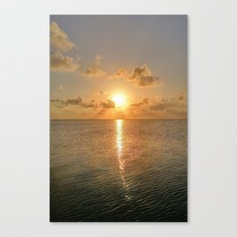 San Pedro Sunset Canvas Print