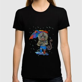 Pygmy Marmoset in the Rain T-shirt