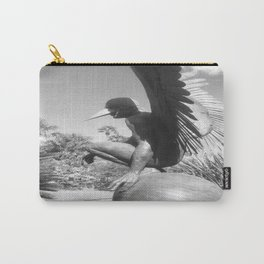"""The """"Wings of the City"""" sculpture exhibit by Mexican Artist Jorge Marín 3 Carry-All Pouch"""