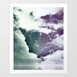 Encroaching Duality Art Print