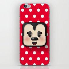 minnie mouse cutie iPhone & iPod Skin