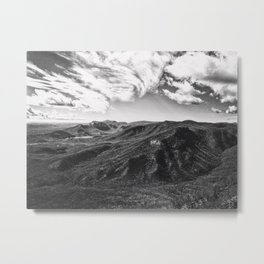 Race Of The Clouds Metal Print