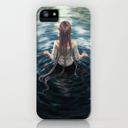 The well iPhone Case