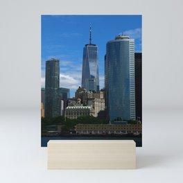 Manhattan One World Trade Center Mini Art Print