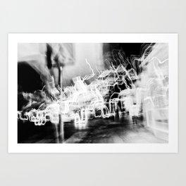 Lund In Motion 3 Art Print