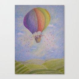 Balloon's Bears Canvas Print