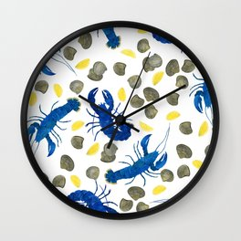 Maine Squeeze Wall Clock