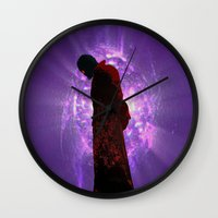 starlord Wall Clocks featuring Lord Of A Galaxy by Kramcox