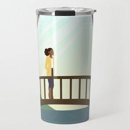 morning stroll in the springtime Travel Mug