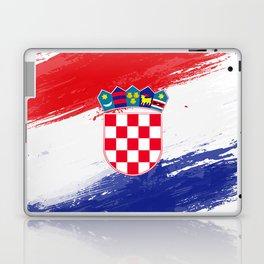 Croatia's Flag Design Laptop & iPad Skin