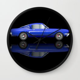 Very Fast Car Wall Clock