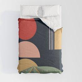 Contemporary Organic 0096 Comforters