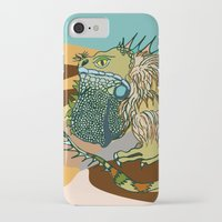 dune iPhone & iPod Cases featuring Dune by Maria Paula Quiva