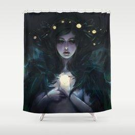 Aurora Borealis Shower Curtain