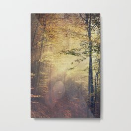 Fall Paintbox Metal Print