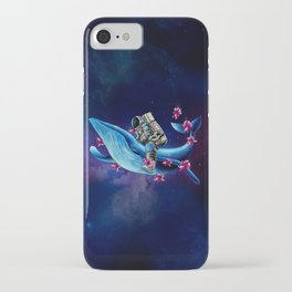 Space Wanderer iPhone Case