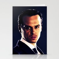 moriarty Stationery Cards featuring Jim Moriarty by Kristine Harbek
