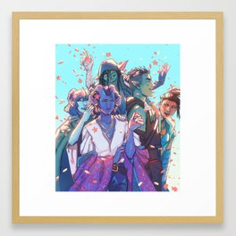 mighty Framed Art Print