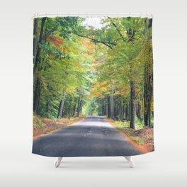 New Beginnings - Fall Colors Shower Curtain