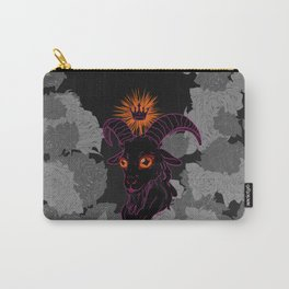 Regal Black Goat Carry-All Pouch