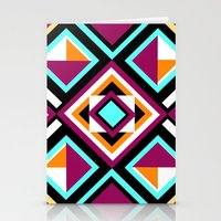quilt Stationery Cards featuring Quilt Pattern by k_c_s