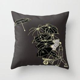 No Couro! Throw Pillow
