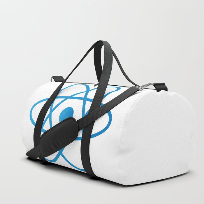 Abstract Isolated Atom Duffle Bag