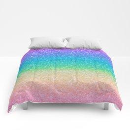 Rainbow Glitter Comforters