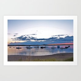 Hampton Beach , New Hampshire Art Print