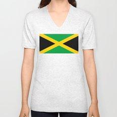 Flag of Jamaica Unisex V-Neck