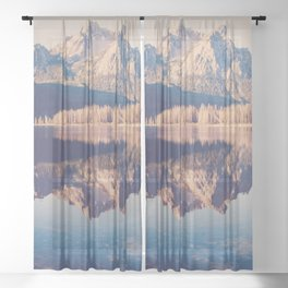 McGown Peak Sheer Curtain