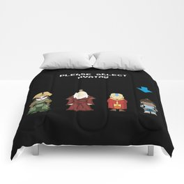 Avatar Selection Screen Comforters