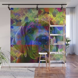 Great Dane Puppy Wall Mural