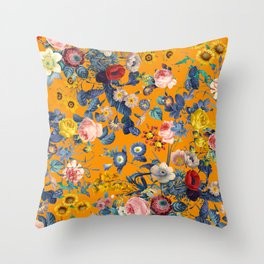 Summer Botanical Garden IX Throw Pillow