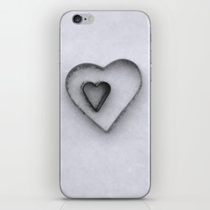 I carry your heart in my heart iPhone & iPod Skin